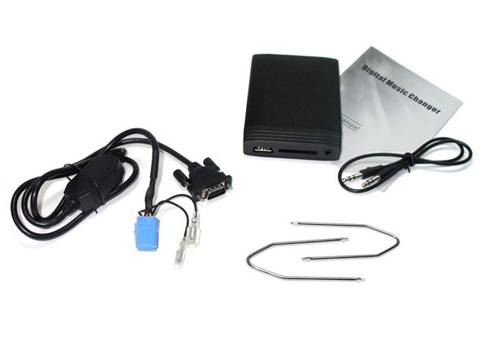 usb mp3 adapter aux interface cd wechsler renault tuner. Black Bedroom Furniture Sets. Home Design Ideas