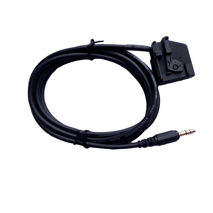 aux adapter cable vw mfd2 rns2 for mp3 ebay. Black Bedroom Furniture Sets. Home Design Ideas