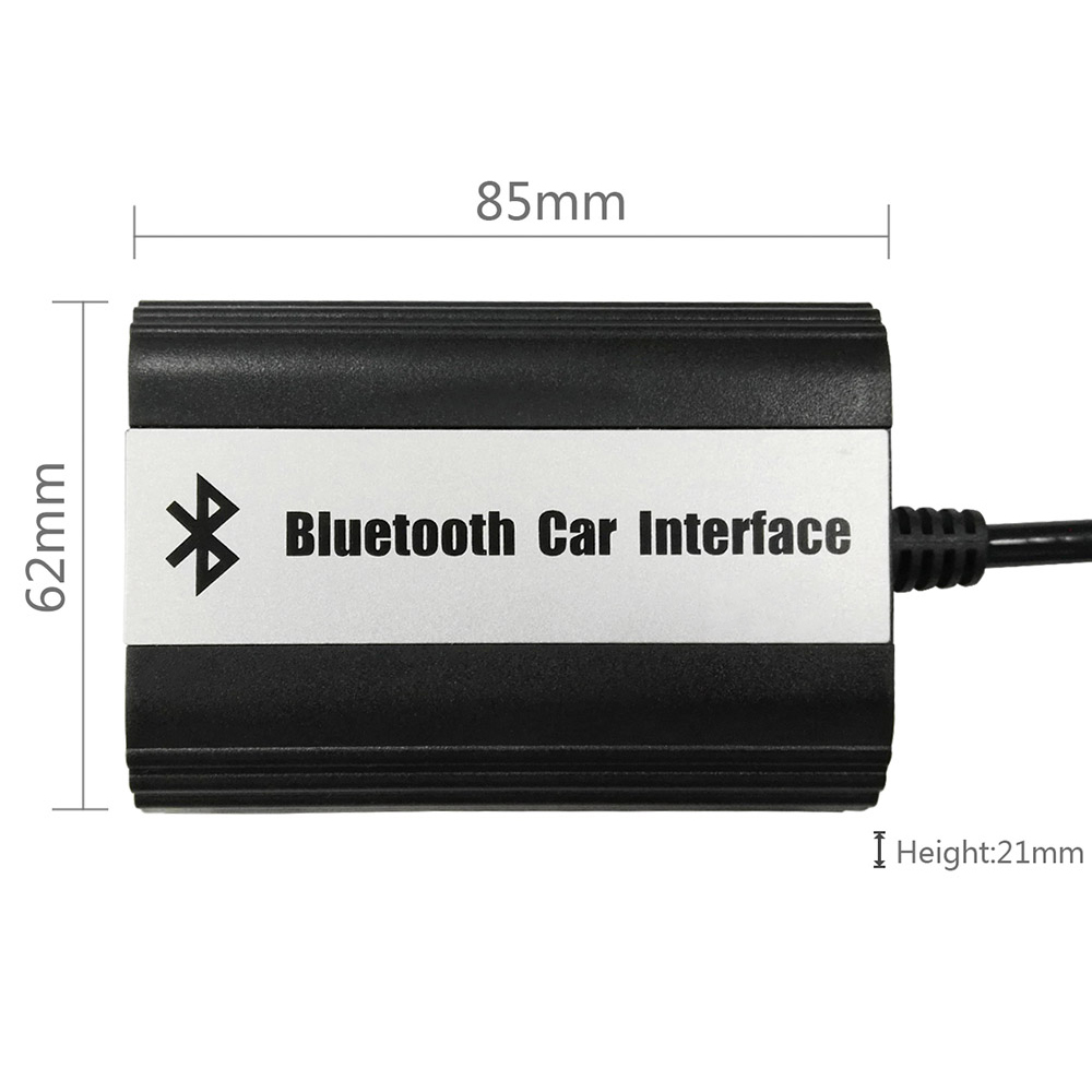 bluetooth aux adapter musik interface freisprechanlage. Black Bedroom Furniture Sets. Home Design Ideas
