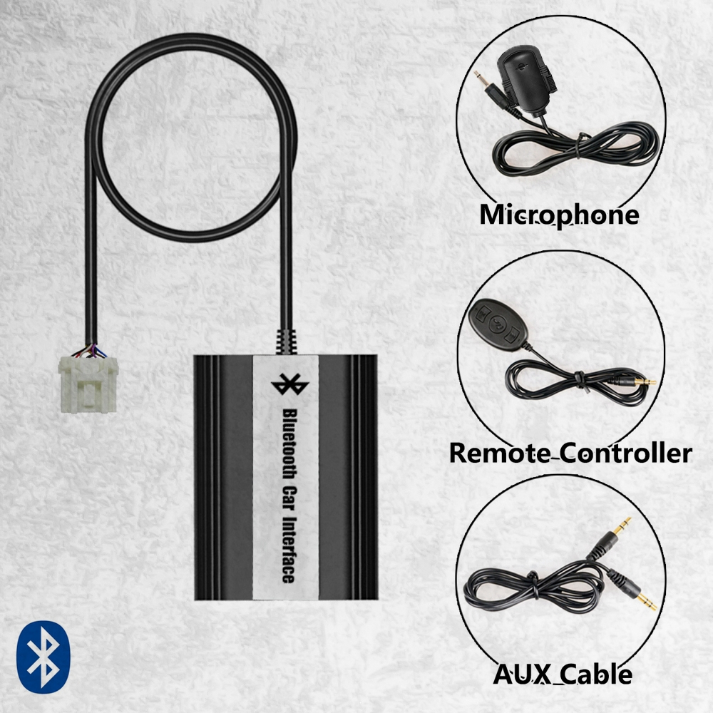 Handsfree Car Bluetooth Kits MP3 AUX Adapter Interface For Mazda 3 5 6 RX8 SPD