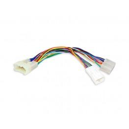 Y-Adapter CD-Wechsler Kabel für Toyota (6+6 auf 5+7pin)