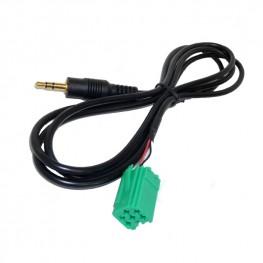 3,5mm Klinke AUX-Adapterkabel für Renault Carminat, UpDate List