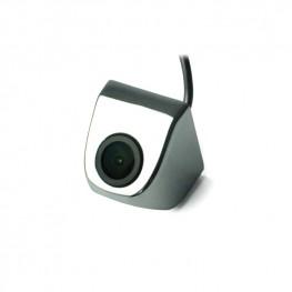 Farb-Rückfahrkamera/Frontkamera mit Distanzlinien für Unterbau (Chrom), 170° Weitwinkel, NTSC, CCD Sensor
