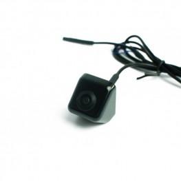 Farb-Rückfahrkamera/Frontkamera mit Distanzlinien für Unterbau (Schwarz), 170° Weitwinkel, NTSC, CCD Sensor
