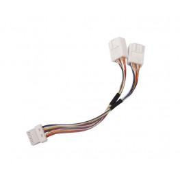Y-Adapter CD-Wechsler Kabel für Nissan mit Navi