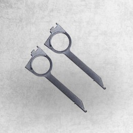 Entriegelungswerkzeug (Paar) für BECKER JVC  SONY Autoradios Spezial Werkzeug