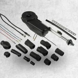 12V vollautomatische Universal Motor-Versenkantenne mit Zubehör (13 Adapter)