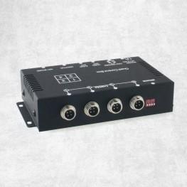 4-fach Video-Switch Rückfahrkamera Überwachung Splitter Verteiler Cinch