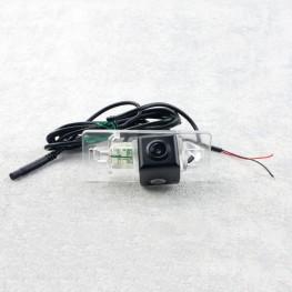 Auto Kennzeichenleuchte-Rückfahrkamera mit Distanzlinien für Audi A4, A5, TT / Porsche Panamera / Skoda Superb