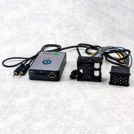 SAXOBUY USB + SD + AUX Adapter für BMW Rund 17pin