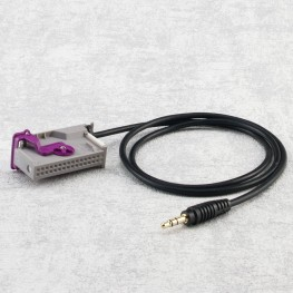 3,5mm Klinke AUX-Adapterkabel für Audi RNS-E