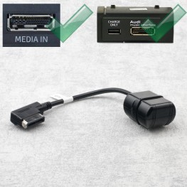 Bluetooth-Adapterkabel (Audio Streaming) für Audi AMI, VW MDI