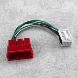 CD-Wechsler-Adapter (0,15m) für Audi, VW 8-Pin Wechsler an 12-Pin Radio/Navi