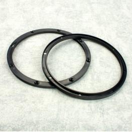 Kunststoff Lautsprecher Distanzringe (1 Paar) 165 mm, 6,5mm Höhe
