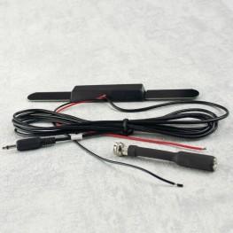 Aktive DVB-T Signal Verstärker Antenne Koax Kabel 12V 25dB