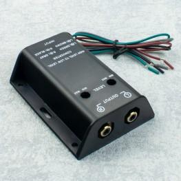 Verstärker Cinch Konverter Adapter Auto Radio Kabel Stereo Converter Umwandler