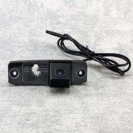 Auto Kennzeichenleuchte-Rückfahrkamera mit Distanzlinien für Hyundai i20, i30, i40, Tuscon, Sonata, Accent / KIA Sorento, Sportage