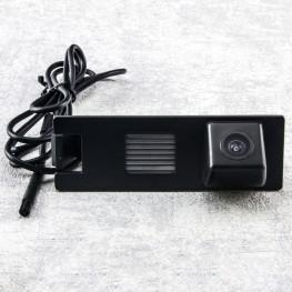 Auto Kennzeichenleuchte-Rückfahrkamera mit Distanzlinien für Hyundai ix35 / KIA Sportage, Rio