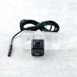 Auto Kennzeichenleuchte-Rückfahrkamera mit Distanzlinien für Hyundai Santa Fe