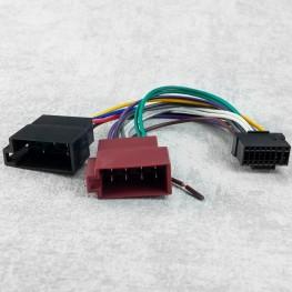 Radioanschlusskabel für Panasonic Radios (CQ-FX Serie/ CQ-RDP 202 N) OEM auf 2 x ISO