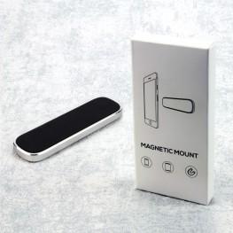Universal Magnet-Handyhalter Smartphone Design-Mount, silbern