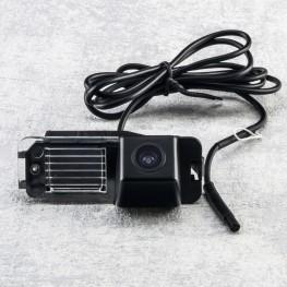 Auto Kennzeichenleuchte-Rückfahrkamera mit Distanzlinien für VW Golf VI, Jetta VI, Passat CC, Polo 6R