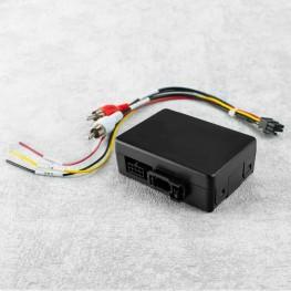 Aktivsystem Radio-Adapter für Fahrzeuge mit aktivem Soundsystem (Verstärker von BOSE® / Harman-Kardon®) und MOST-Bus Anschluss (Porsche/ Mercedes)