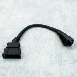 Nachrüstadapter 8 pol ISO Anschluss CD-Wechsler Adapter für VW Audi Skoda Seat