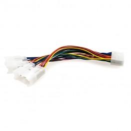 Y-Adapter CD-Wechsler Kabel für Toyota 5+7pin