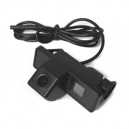Car rear view camera in license plate light for Citroen, Nissan, Peugeot, Mercedes Vans