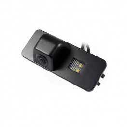 Car Rear View Camera in license plate light for Seat Leon IV, Skoda Superb and VW Golf V