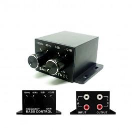 Bass level remote control 0 / 12dB 40-150Hz