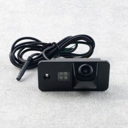 Car license plate light rear view camera with distance lines for Audi A4, A6, A5, A8, Q7