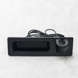Auto rear view camera with distance lines in handlebar for BMW 3 (F30), 5 (F10 / F11), X3 (F25)