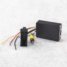 Interface for factory rear view camera signal for VW with aftermarket Radio (RNS315, RNS510, RCD510, Columbus , Bolero or Trinax)