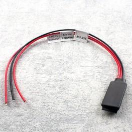filtre de signal pour appareils rétroviseurs pour véhicules à un bus CAN (cadencé feux de recul)