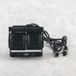 Couleur Caméra de recul Twin (NTSC) pour Transporter par exemple pour VW T5, VW Crafter, Mercedes Sprinter, Mercedes Viano, Fiat Ducato