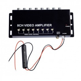 Amplificatori video splitter 8 video distribuzione specializzata (1IN su 8OUT)