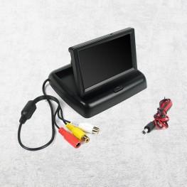 Monitor pieghevole da 10,9 cm / 4,3 pollici (nero)