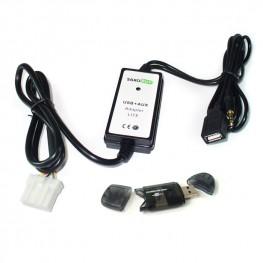 Adaptador AUX USB SD para Mazda con y sin sistema BOSE