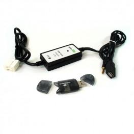 Adaptador AUX USB SD para Honda