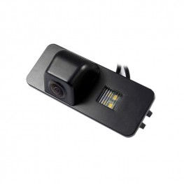 Cámara de visión trasera de coche en luz de la matrícula para Seat Leon IV, Skoda Superb y VW Golf V