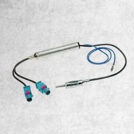 Doble - Adaptador antena FAKRA DIN activo BMW VW PSA