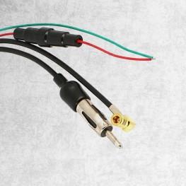 Divisor de antenas DAB DAB + FM FM SMB (f) DIN (m)