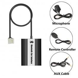 Bluetooth + USB + AUX Adaptador con mando a distancia por cable para Honda