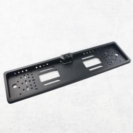 Cámara de visión trasera (PAL) en la almohadilla de la placa, integrada luz de marcha atrás