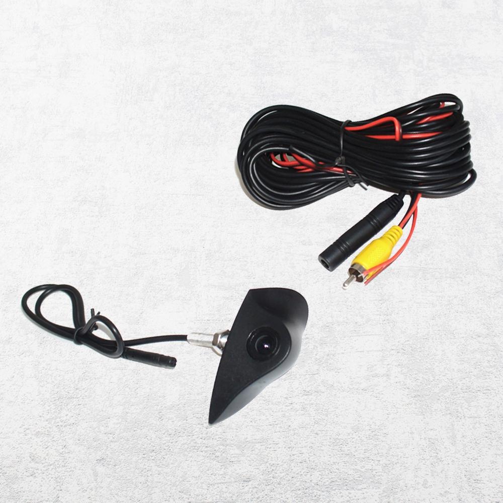 Farb Front Einbau 170° IP67 NTSC 1//4 CCD für Mercedes Emblemkamera Schwarz